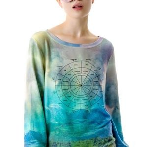 WildFox Within You Zodiac Baggy Beach Jumped Small